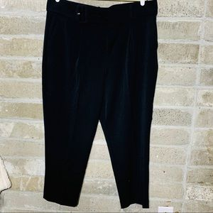 A New Day Black Belted Stretch Trousers